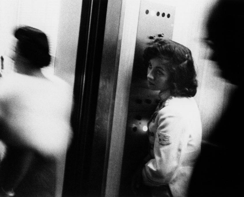 Robert Frank_Elevator – Miami Beach_1955