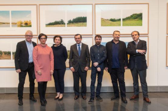 Inauguración de Geografía del tiempo de Bleda y Rosa en el Museo Universidad de Navarra. MANUEL CASTELLS (8)